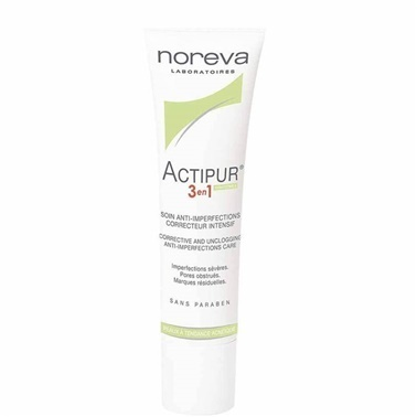 Noreva Actipur İntensive Anti-Imperfection Care 3 in 1 30ml Renksiz